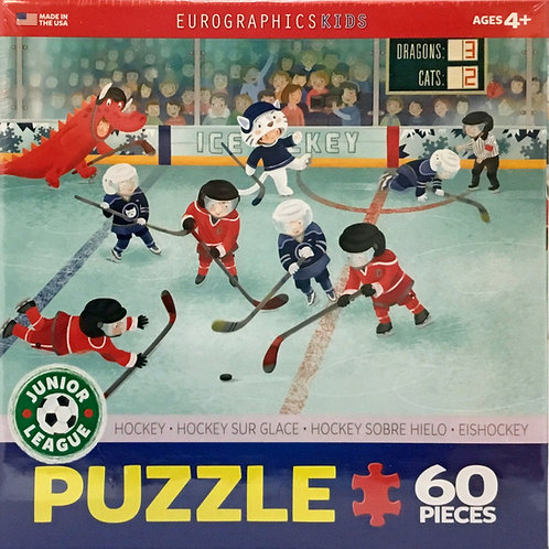 Ice Hockey 60 Pieces - Ages 4+