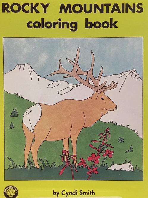 Rocky Mountain Colouring Book