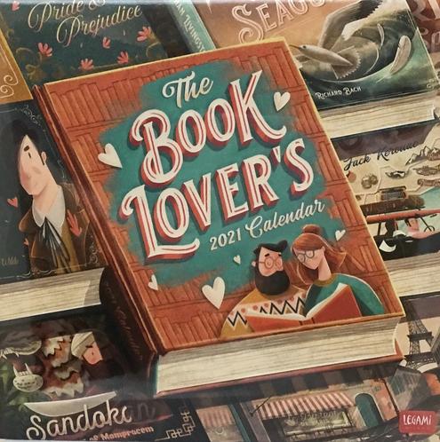 Book Lovers 2021 Wall Calendar