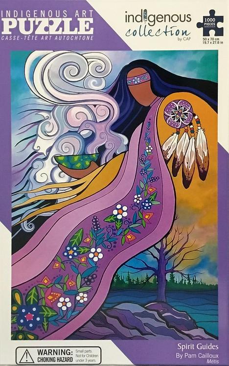 Spirit Guides puzzle 1000 pieces - Pam Cailloux