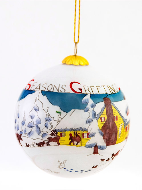 Peter & Catharine's Home, 1949, Ornament