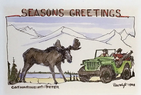 Peter Whyte Christmas Card Collection I - 20 blank notecards
