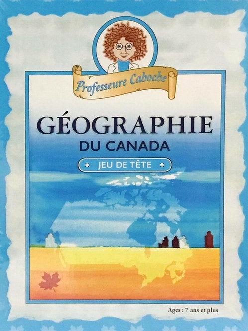 French Geography of Canada Trivia Game - Professor Noggin's - Age 7+