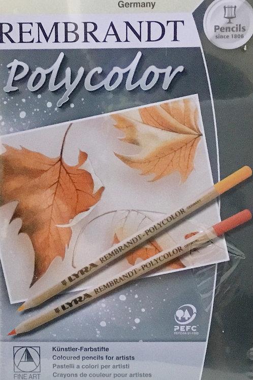12 High Quality Colour (Color) Pencils