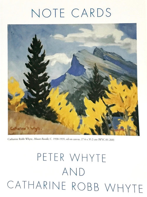 Peter & Catharine Whyte Collection - 8 blank notecards