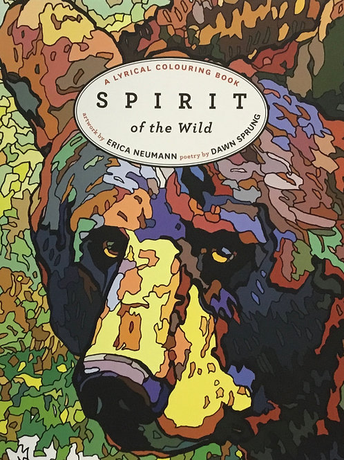Spirit of the Wild - A Lyrical Colouring Book