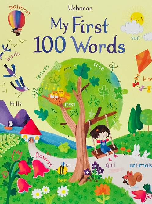 My First 100 Words: Ages 3 +