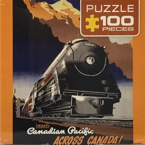 Across Canada CP puzzle 100 pieces - Ages 4+