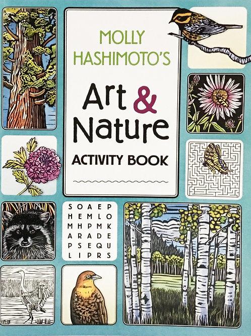Art & Nature Activity Book - Molly Hashimoto's