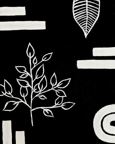 Modern Plant Print
