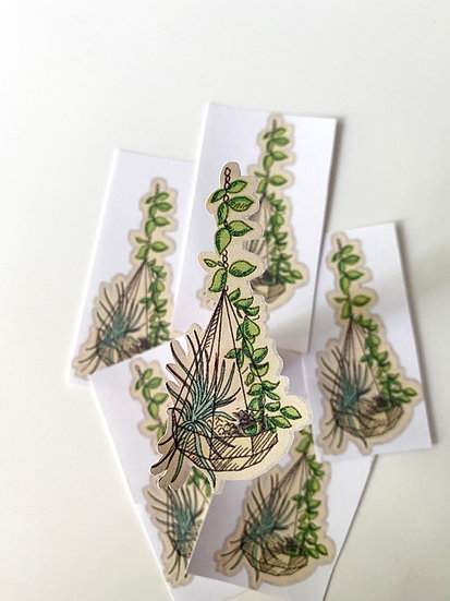Hanging Terrarium Sticker