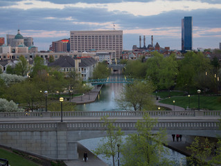 Downtown Indy Canal..!!
