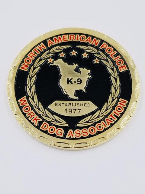 NAPWDA Challenge Coin