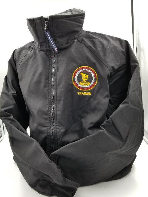 NAPWDA Insulated Fleece Lined Jacket - Embroidered Front and Back