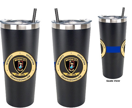 22oz insulated metal tumbler