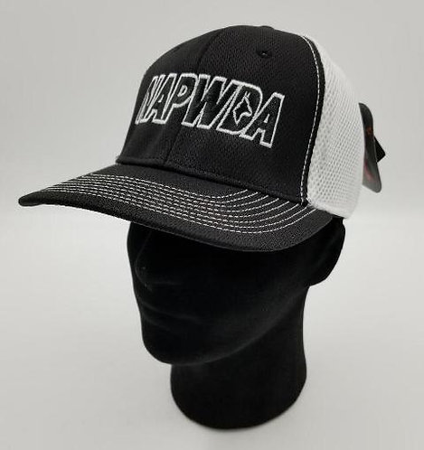 NAPWDA Ball Cap Black & White with NAPWDA logo