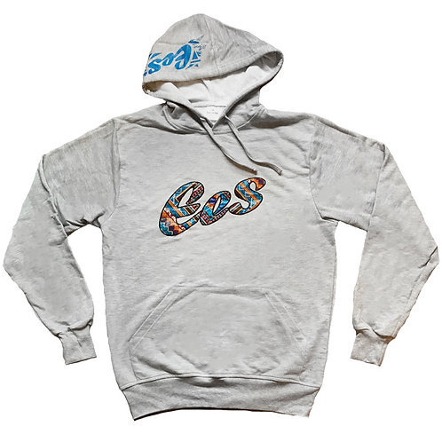 EES Hand-Made Afro Hoodie (grey)