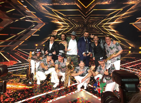 EES and The Yes-Ja! Band Gewinnner X Factor 2018