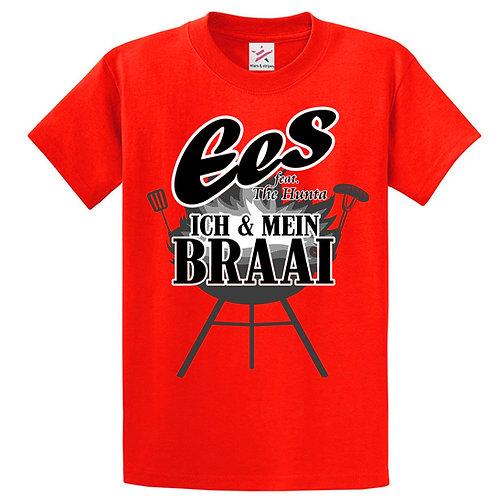Ich & mein Braai T-Shirt (red)