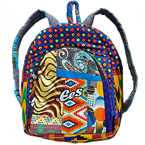"EES ""Afro Pattern"" Backpack (limited edition)"