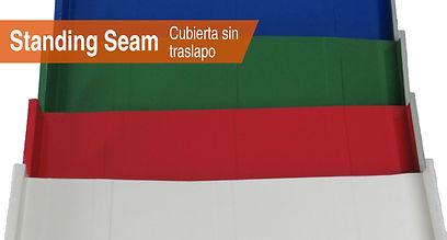 Cubierta Standing Seam/Acerfo