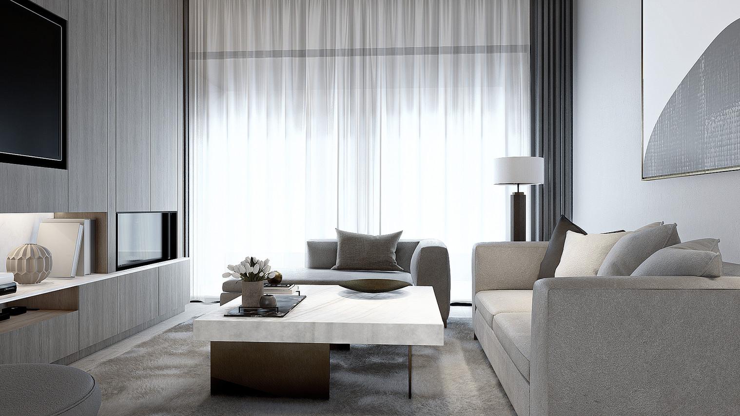 Arkhagha Residence First floor - Living