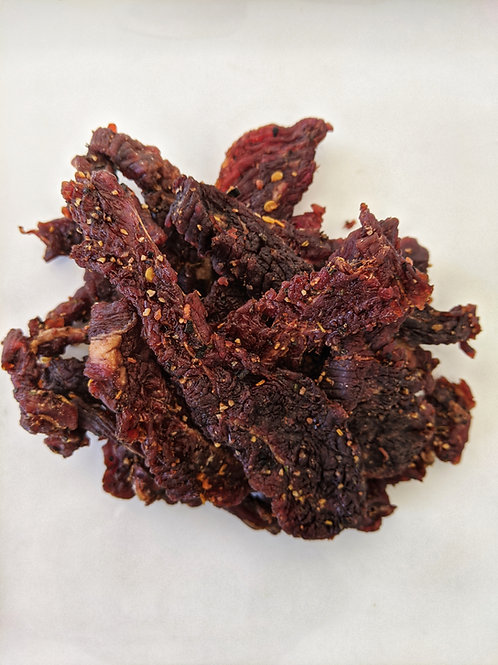 "Steak ""au Poivre"" Jerky"