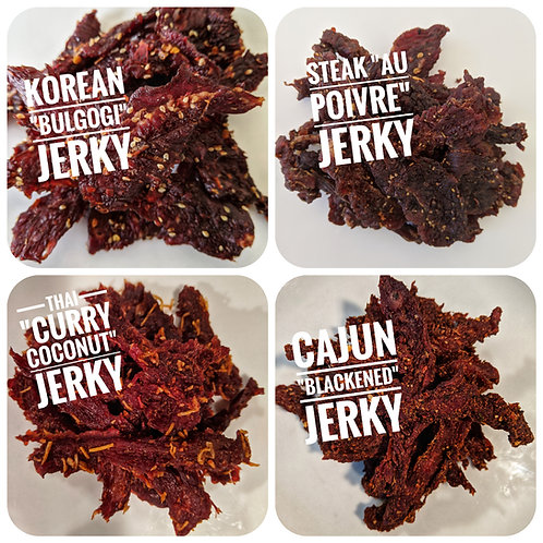 4-Pack Jerky Sampler