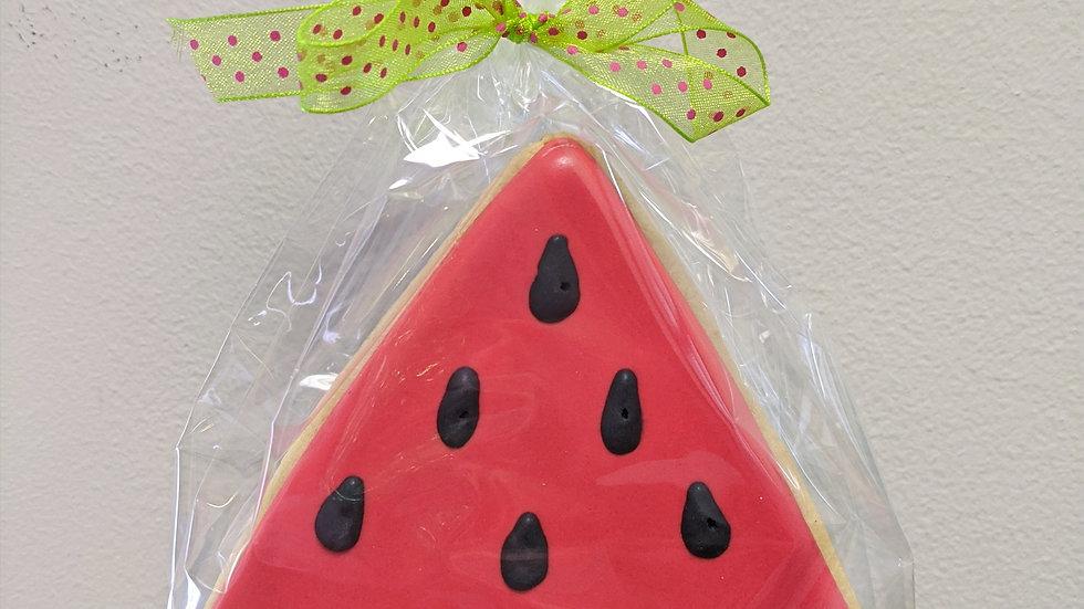 Watermelon Slice Cookie Favor