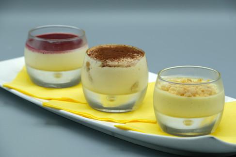Dessert Restaurant Italien Piacere