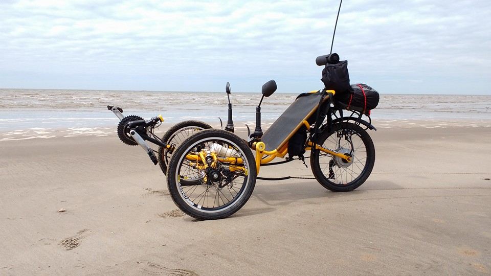 Trike full suspension rumo ao Ushuai