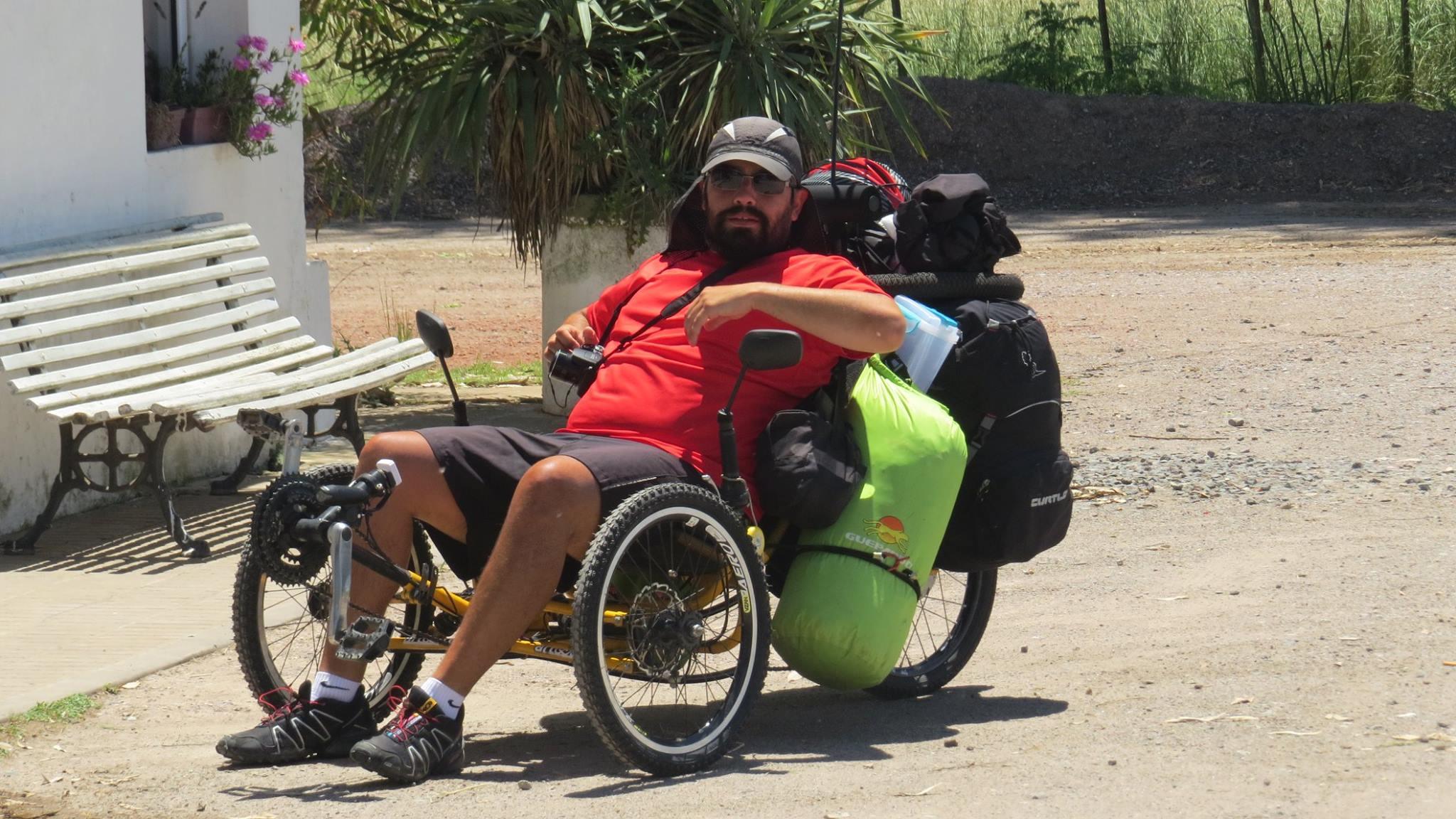 Trike full rumo ao Ushuaia/AR