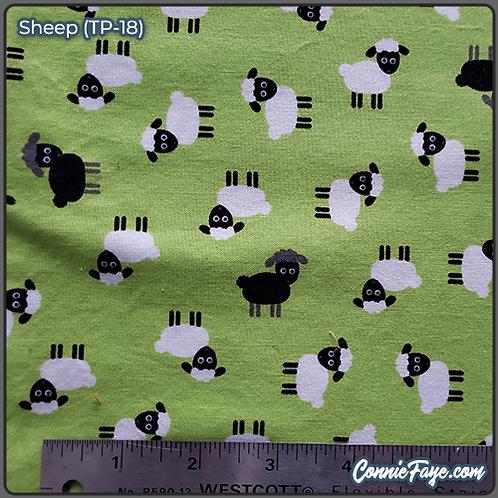 Sheep (TP-18) Olson Cloth Face Mask