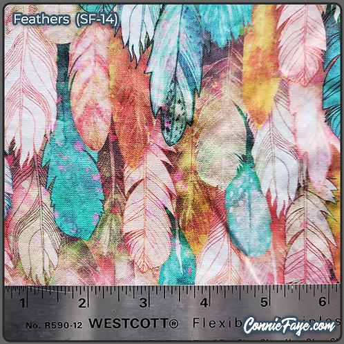 Feathers (SF-14) Olson Cloth Face Mask