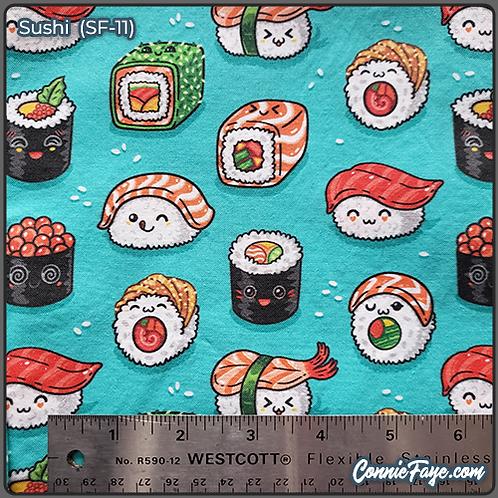 Cute Sushi (SF-11) Olson Cloth Face Mask