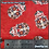 Thumbnail: Sugar Skulls Red (TP-10) Olson Cloth Face Mask