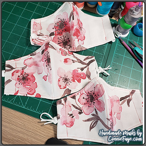 Cherry Blossoms (TP-15) Olson Cloth Face Mask