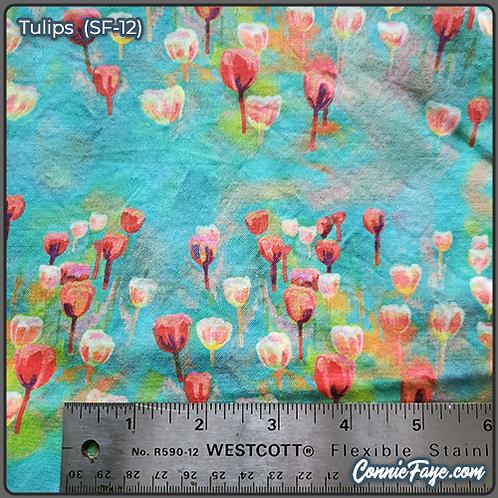 Tulips (SF-12) Olson Cloth Face Mask