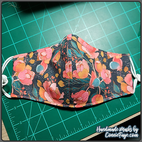 Butterflies & Flowers (SF-1) Olson Cloth Face Mask