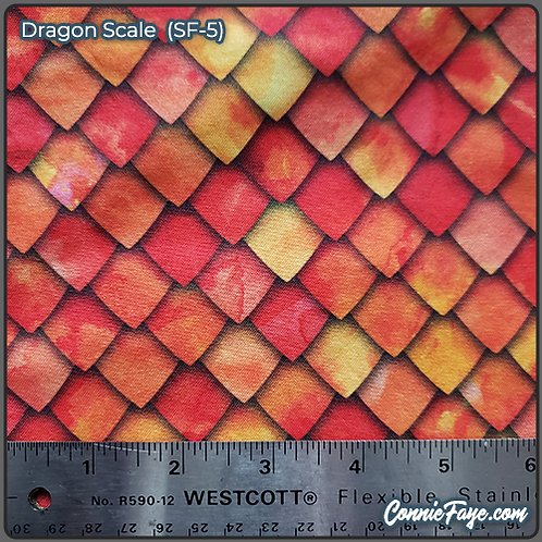 Dragon Scale (SF-5) Olson Cloth Face Mask