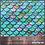Thumbnail: Mermaid Scales (SF-3) Olson Cloth Face Mask
