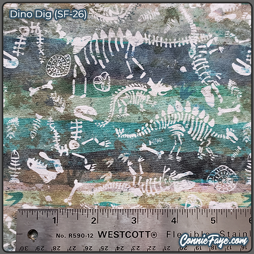 Dino Dig (SF-26) Olson Cloth Face Mask