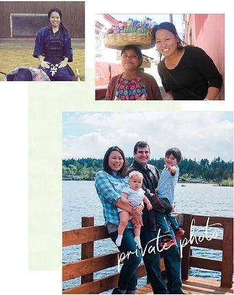 ログスドン沙恵子プライベート写真(剣道、南米訪問、家族と)