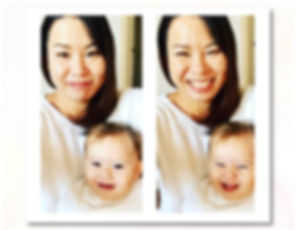 ログスドン沙恵子 娘との写真