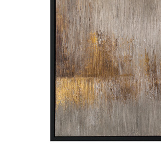 Flicker Diptych - right painting 100x100cm