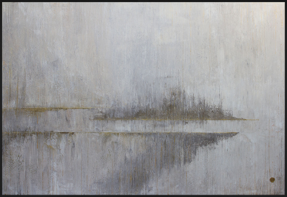 Point Of Departure  // 300x200cm 24K Gold