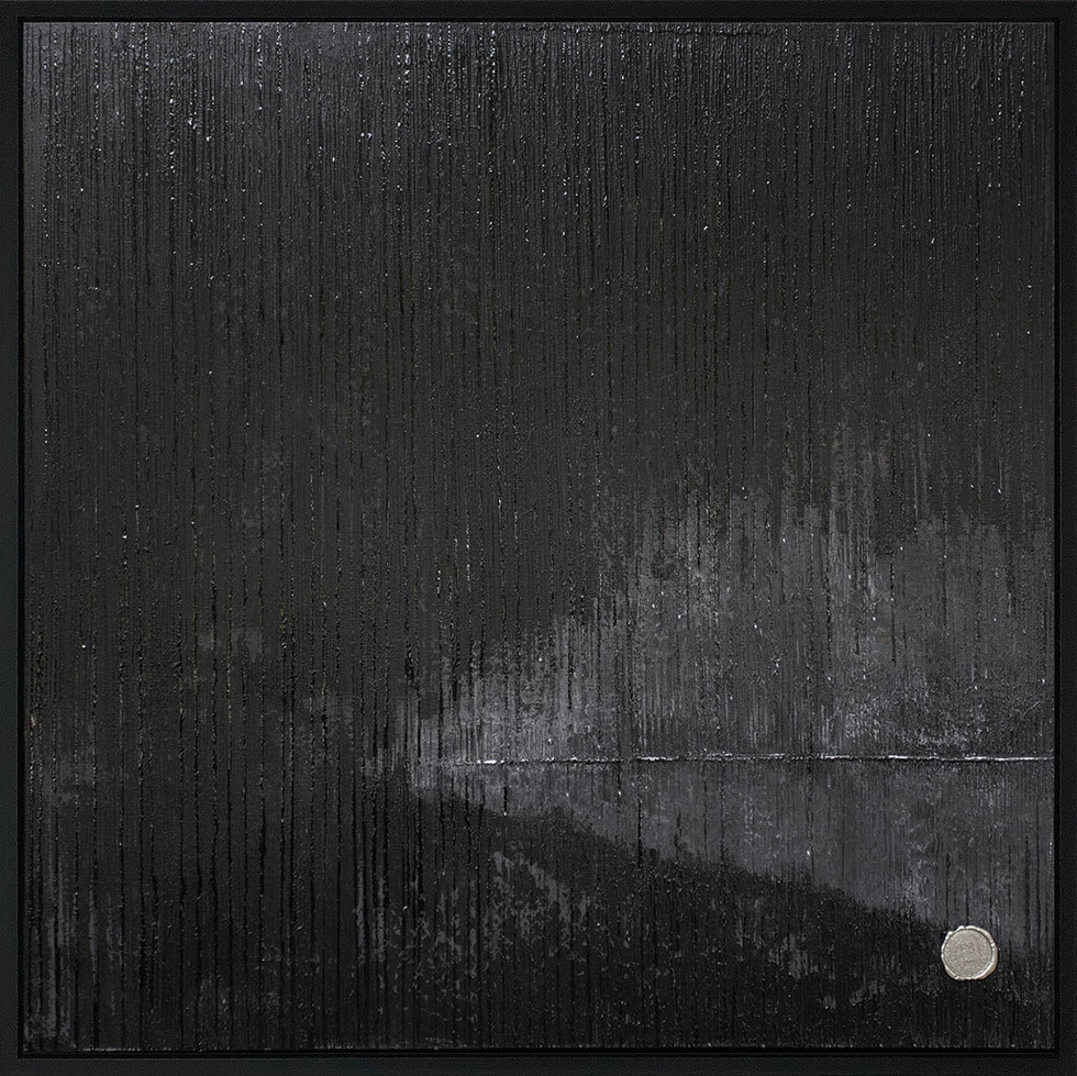 NegativeMoon // 100x100cm