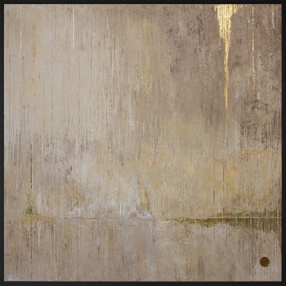 Cingulomania // 150x150cm 24K Gold