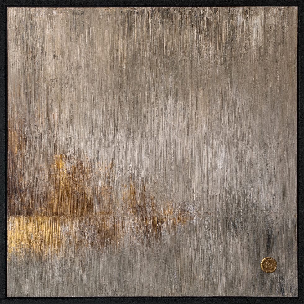 Flicker Diptych - 2x 100x100cm right painting