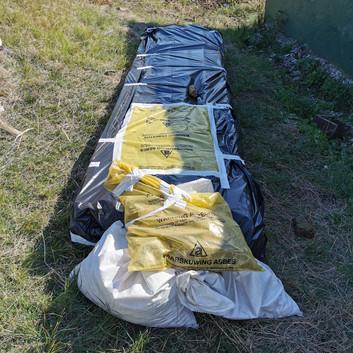 Asbestos Material for Disposal